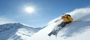 På ski i Lech Zurs i Østerrike