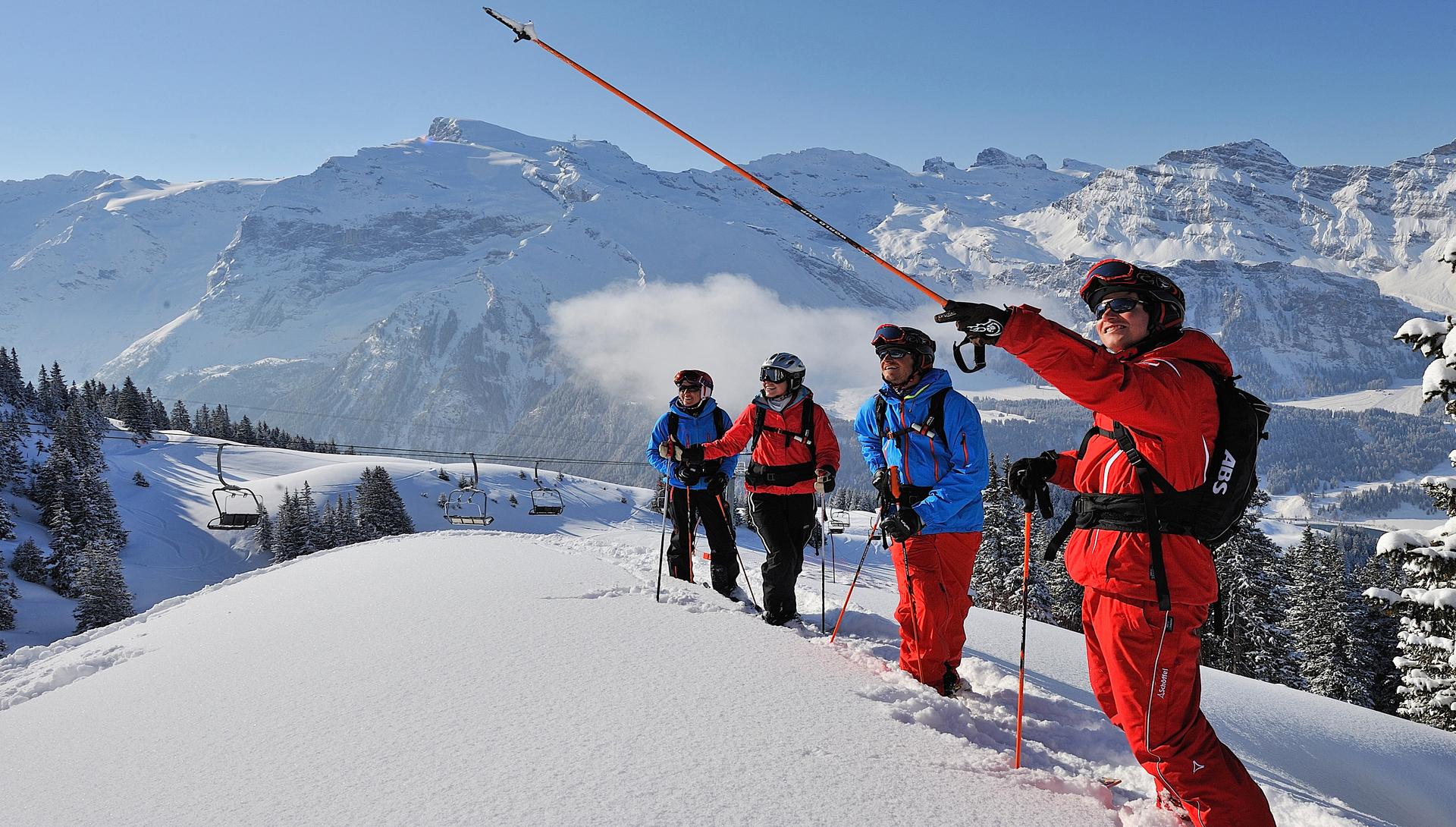 Freeride, Skitour, Gruppe;.Free Ride, Ski Tour, Group;