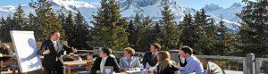 Konferanse i Engelberg i Alpene
