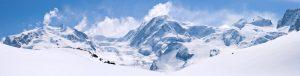 Panorama over Alpene