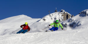 På ski i Engelberg i Sveits