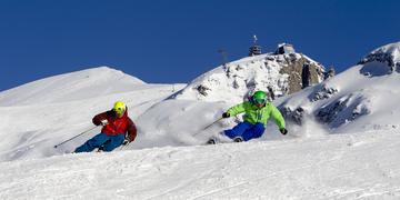 Titlis, Skigebiet, Skifahren, Piste, Schnee, Sonne, SnowXpark, Schneemobil