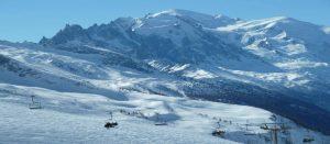 På ski i Chamonix, Frankrike