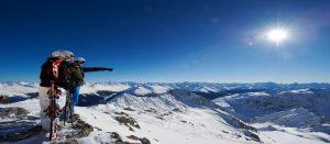 Vakker utsikt i Davos Klosters i Sveits