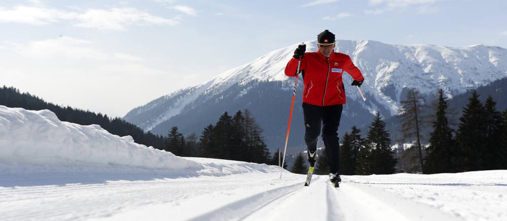 Langlaufen in Davos