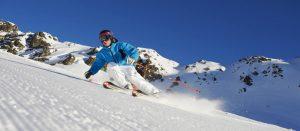 På ski i Davos Klosters i Sveits