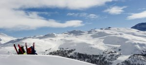 Utsikt over Hemsedal Skisenter