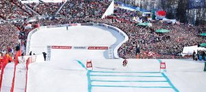 Hahnenkamm world cup i Kitzbühel i Østerrike