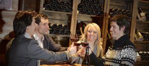 Vinsmaking i La Clusaz i Frankrike