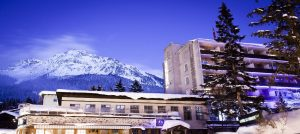 Hotel Kurhaus i Lenzerheide i Alpene