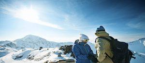 Fra skiområdet i Lenzerheide i Sveits