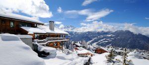Chalet i Verbier, Sveits