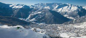 Offpiste i Verbier i Sveits