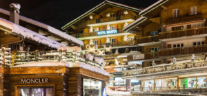 Hotel Bristol i Verbier, Sveits i Alpene