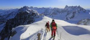 Aiguille du Midi i Chamonix i Alpene