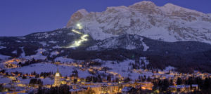 Cortina i Italia by night