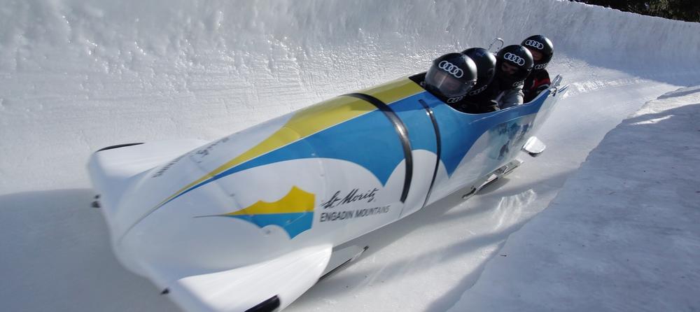 ENGADIN St. Moritz: Olympia Bob Run