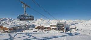 Corvatsch gondol i St. Moritz, Sveits