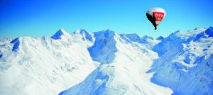 Ballongtur over Sölden og Obergurgl i Alpene