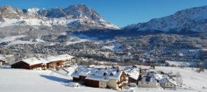 Panorama fra Cortina i Italia