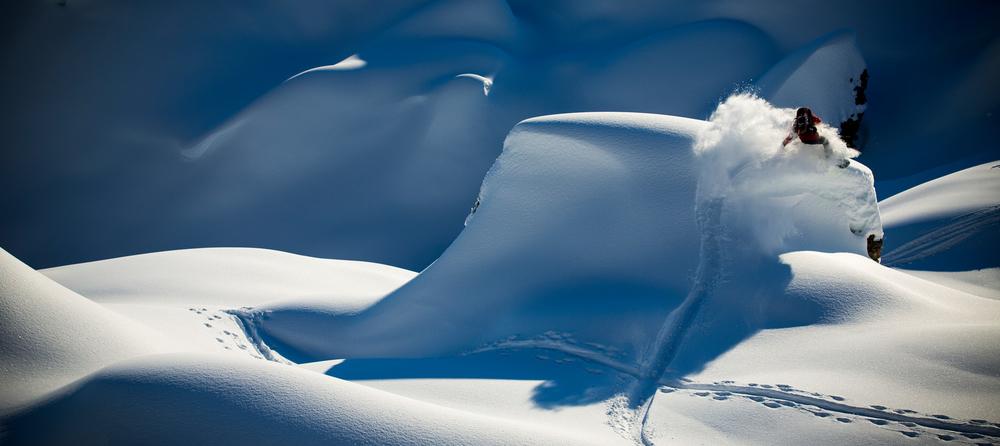 Snowboarden Reto Kestenholz