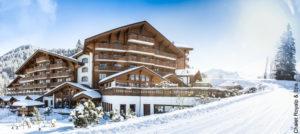 Chalet Royalp & Spa i Villars, Sveits
