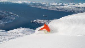 Offpiste og puddersnø i Narvik