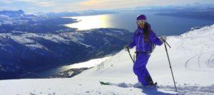 På ski i Narvikfjellet