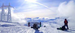 Vakker vinterdag i Narvikfjellet