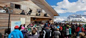 Afterski på Tanzcafe i Lech-Zurs i Alpene