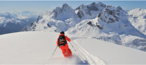 Frikjøring i Lech Zuers am Arlberg