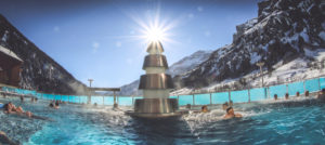 Thermalbad i Leukerbad, Sveits